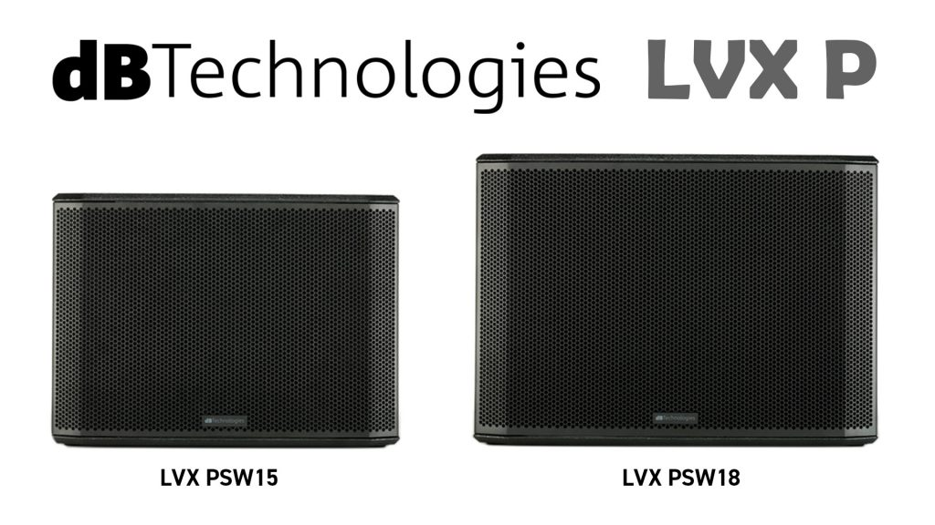 dBTechnologies LVX PSW front