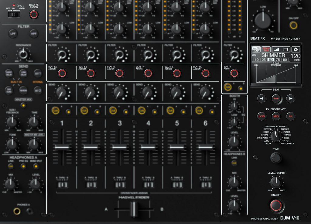 Pioneer DJ DJM-V10 Cue Beat FX