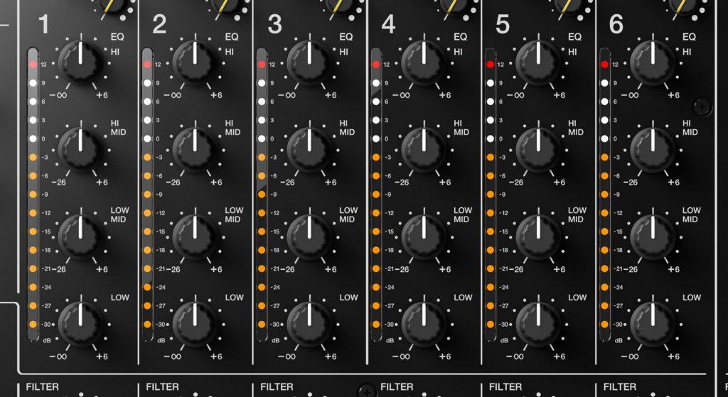 Pioneer DJ DJM-V10 4-полосный эквалайзер