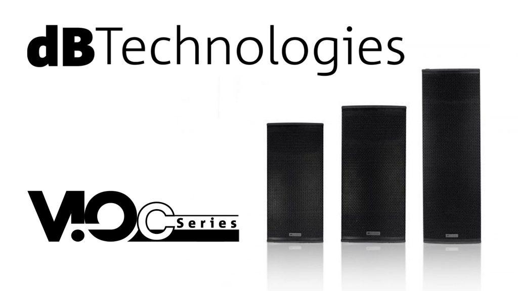 dBTechnologies VIO C – массивы с фиксированным углом 22.5°