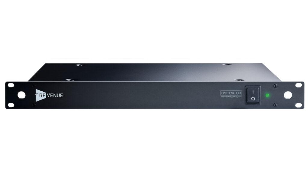 RF-Venue DISTRO9 HDR — мультизонный антенный сплиттер на 9 устройств