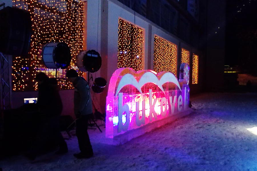 Лыжная трасса курорта Bukovel, Ночной клуб «БУКА»