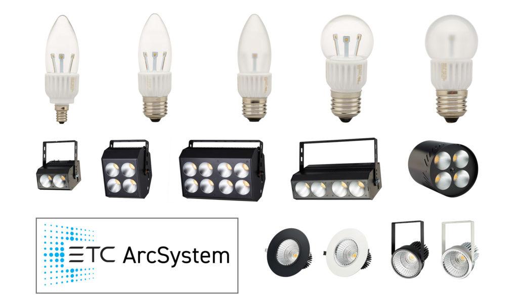 ETC ArcSystem — театральное освещение с возможностью плавного диммирования и дистанционного управления