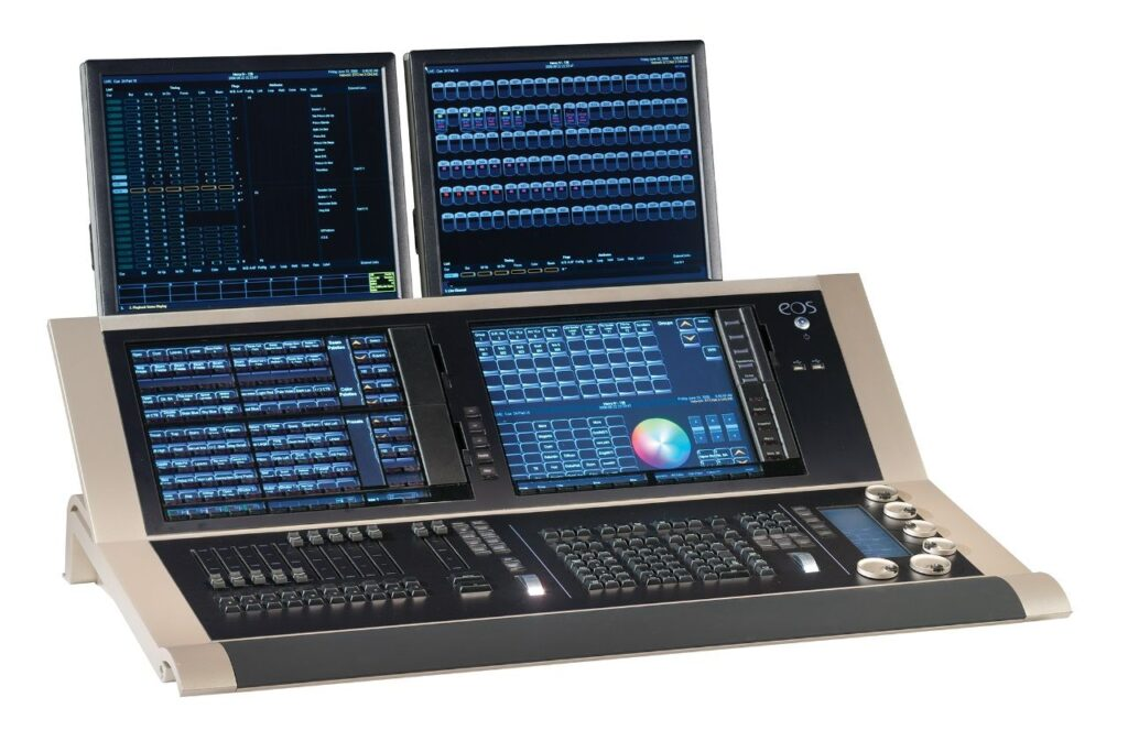 ETC Eos Titanium Control Desk, 4,096 outputs
