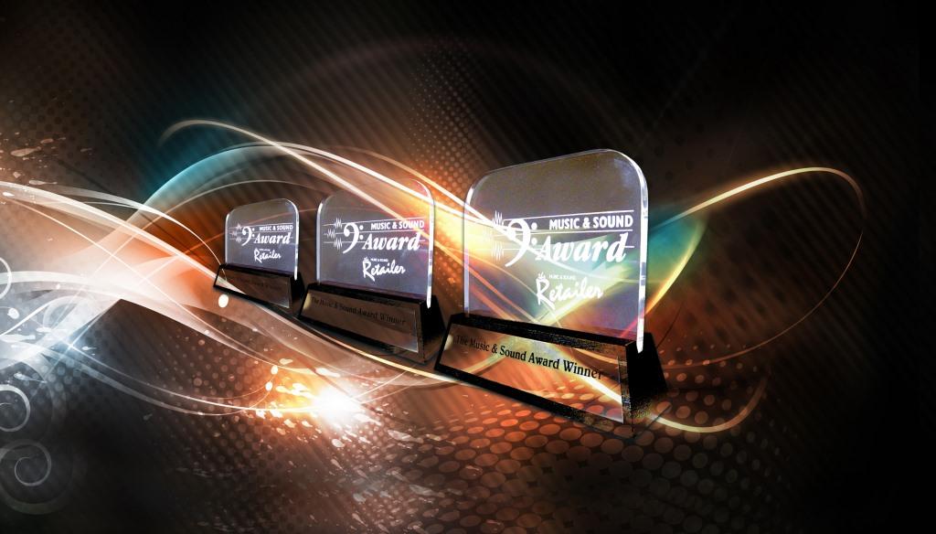 Переможці 35-ї щорічної премії Music & Sound Awards, Manufacturer Division.
