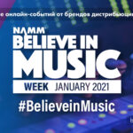 NAMM 2021 Belive in music week