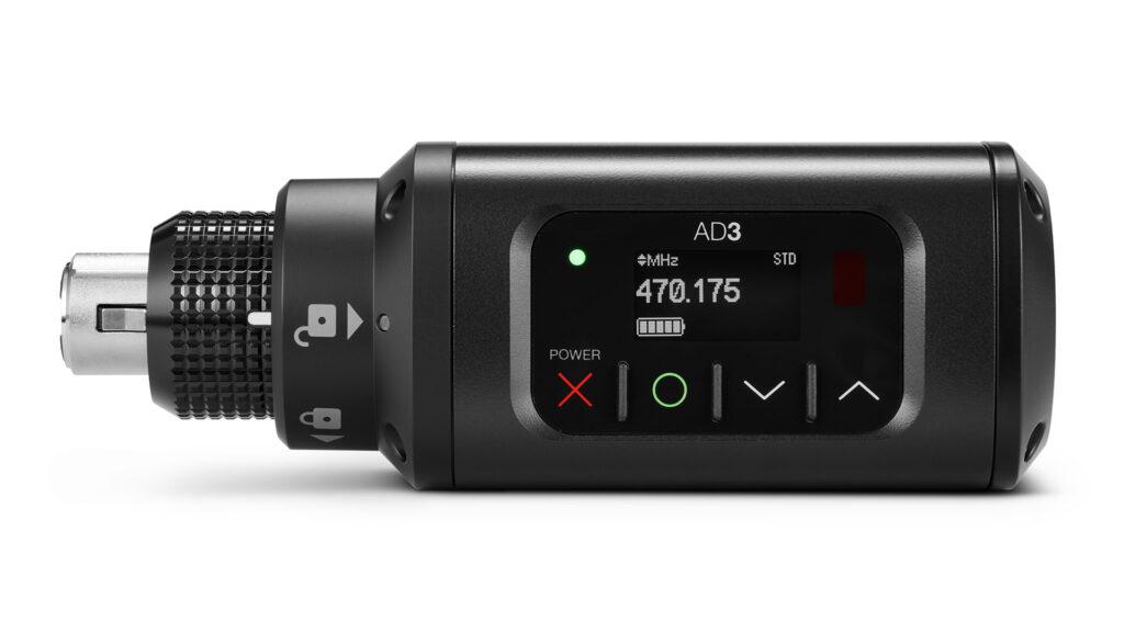 Shure AD3 — бездротовий передавач для дротових мікрофонів