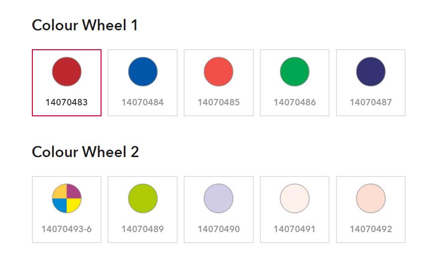 ROBE FORTE Color Wheel