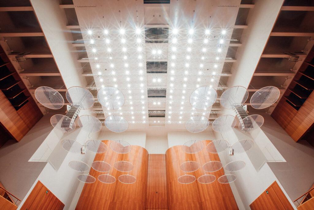 LED-освітлення ETC ArcSystem Pro в Konzerthaus Freiburg