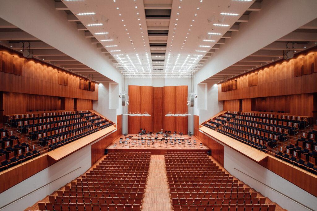 ETC Arc System Pro в Freiburg Concert House