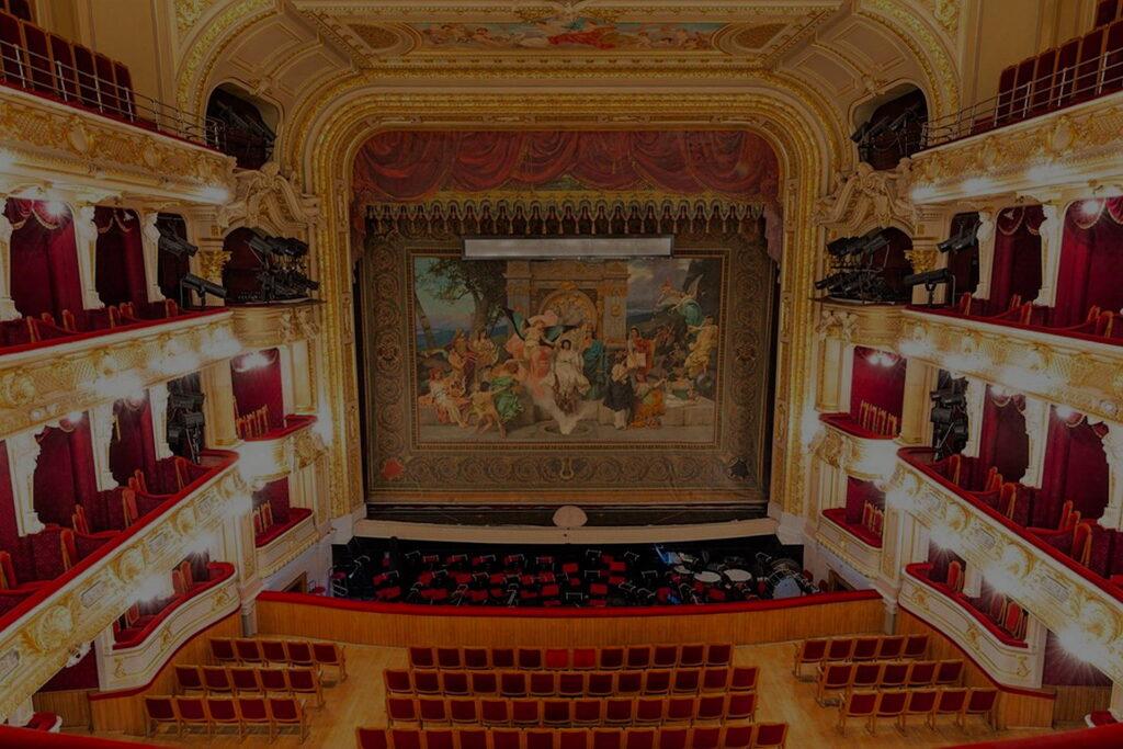 Проектирование театров, филармоний