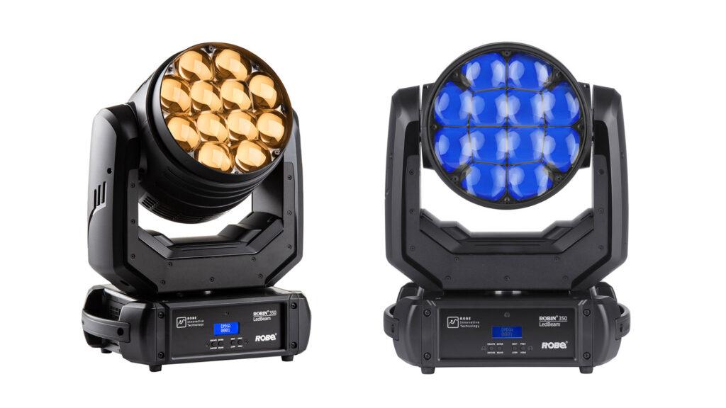 ROBE LEDBeam 350 ™ — новий прилад від одного з лідерів індустрії