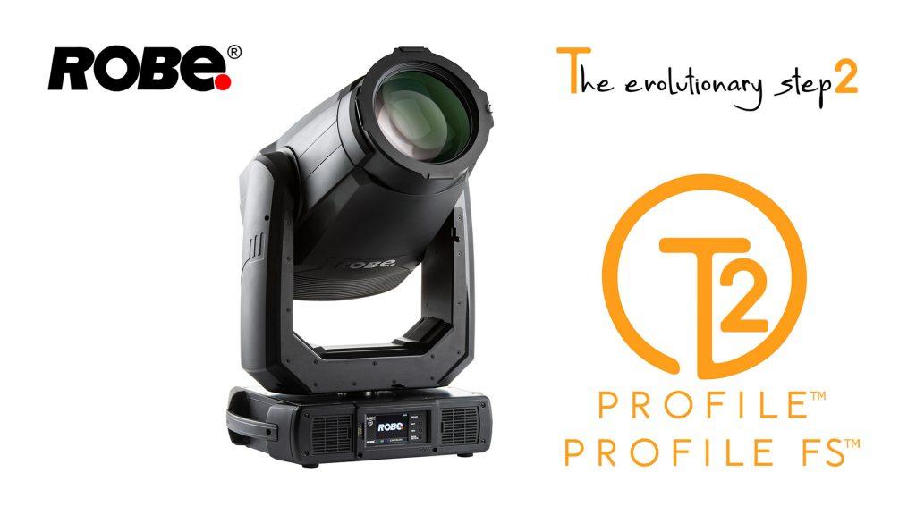 ROBE T2 Profile™ — профільний рухомий прожектор з MSL ™ LED джерелом 850 Вт