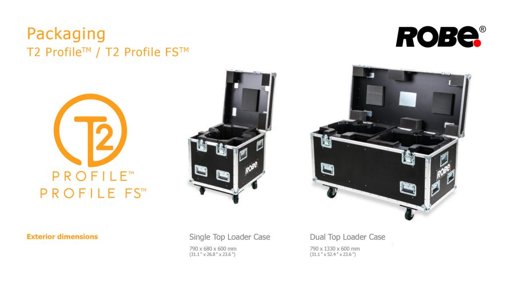 ROBE T2 Profile CASE