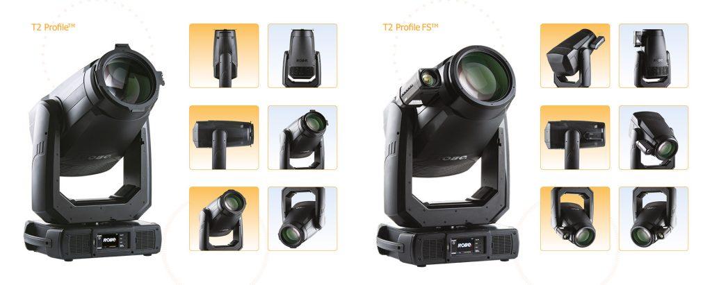 ROBE T2 Profile и ROBE T2 Profile FS