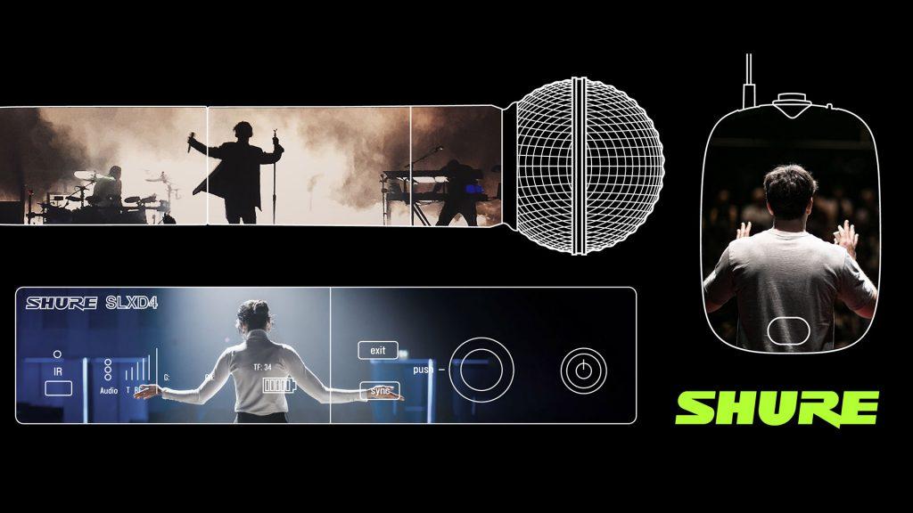 Shure SLX-D получает поддержку Wireless Workbench® 6 и ShurePlus™ Channels