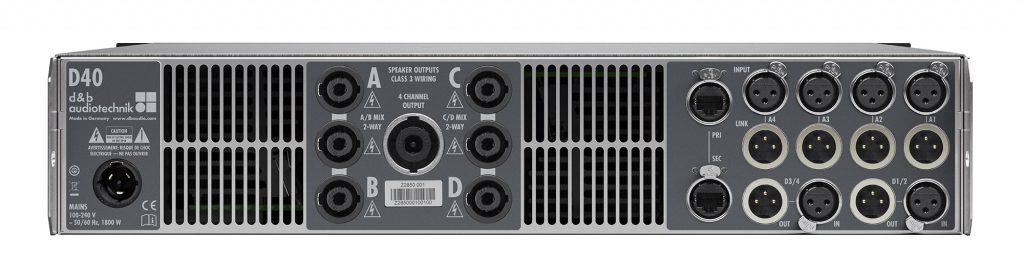 d&b audiotechnik D40