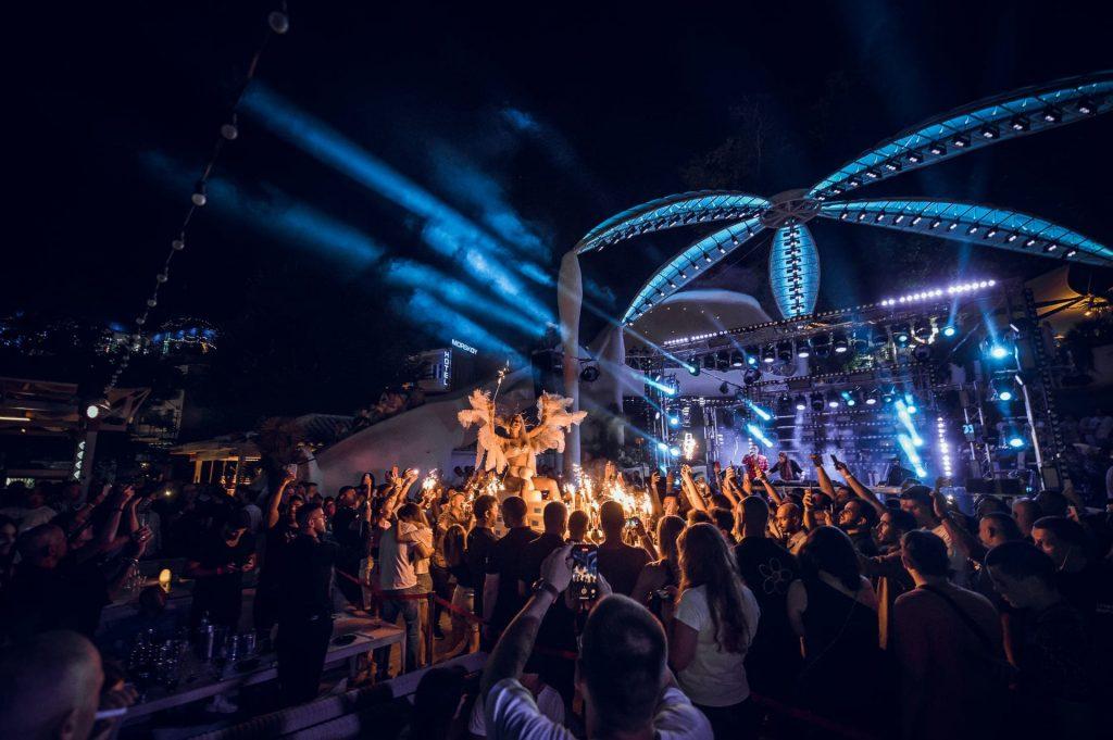 Выступление David Guetta в Ibiza Beach Club, Odessa