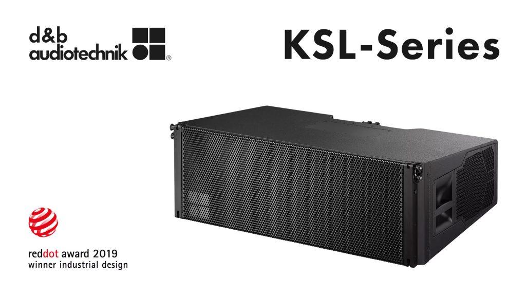 d&b audiotechnik КSL front