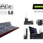 Shure + Yamaha Rivage Version 5