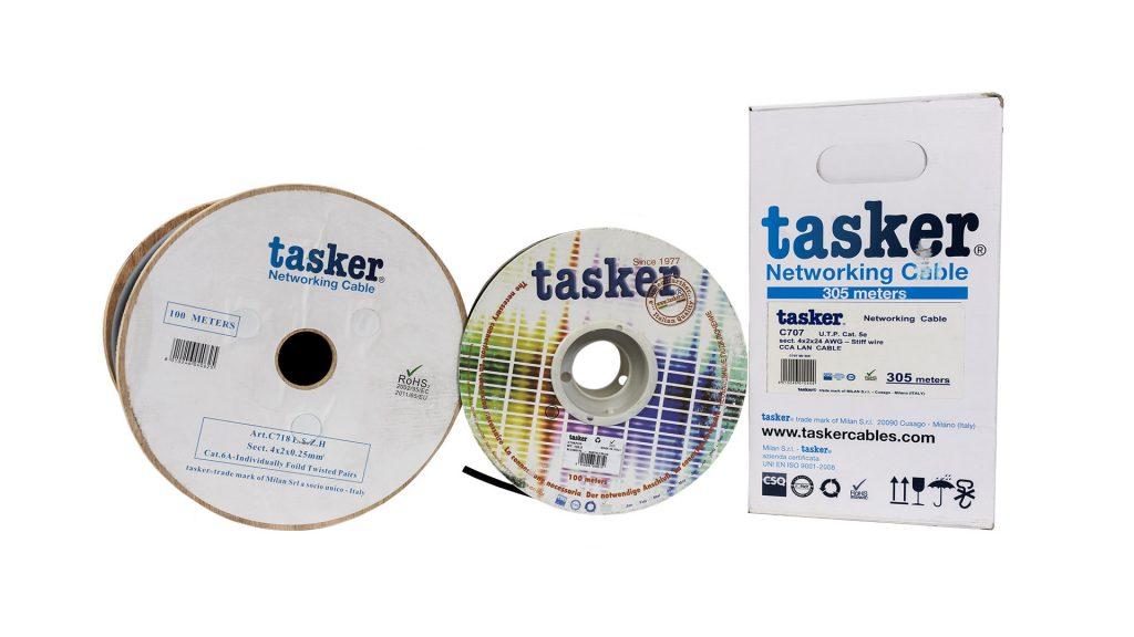 Tasker C707, C718 L.S.Z.H, C726 PUR cables