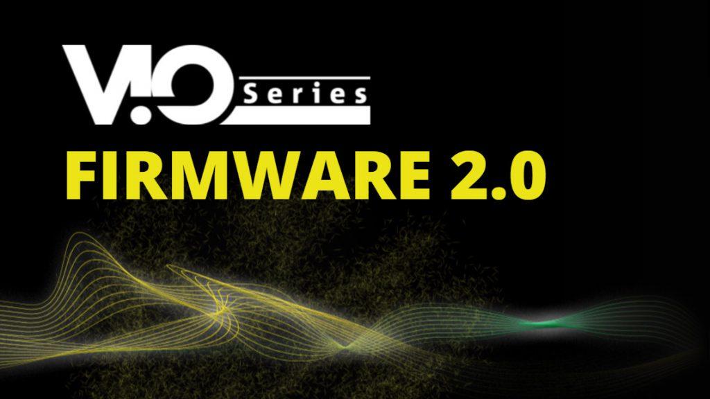 dBTechnologies VIO FIRMWARE 2.0 — обязательное обновление с новыми возможностями