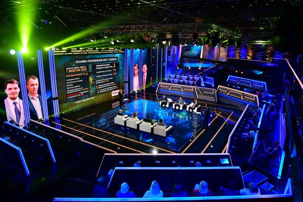Комплексные решения для телестудий, TV-шоу, радиостанций