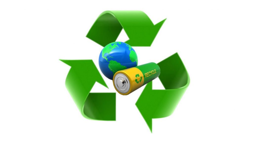 Утилизация батареек символ