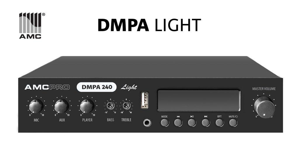 Новые члены семейства AMC DMPA Light, мощностью 120 и 240 Вт.