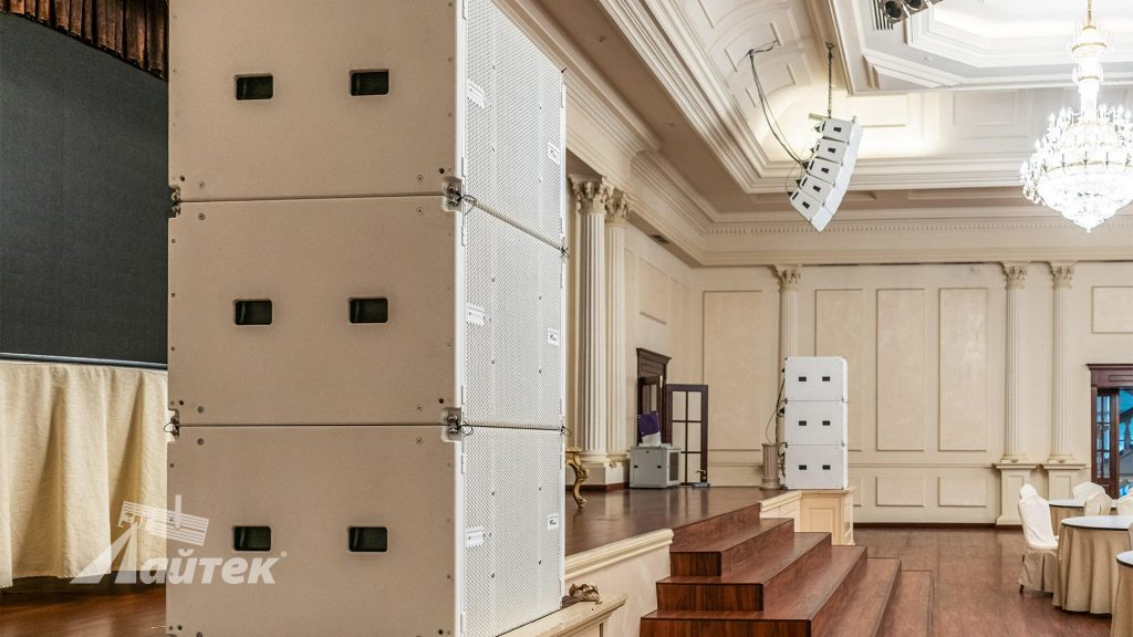 Інсталяція dBTechnologies VIO в банкетному залі «Ренесанс» (м.Одеса)