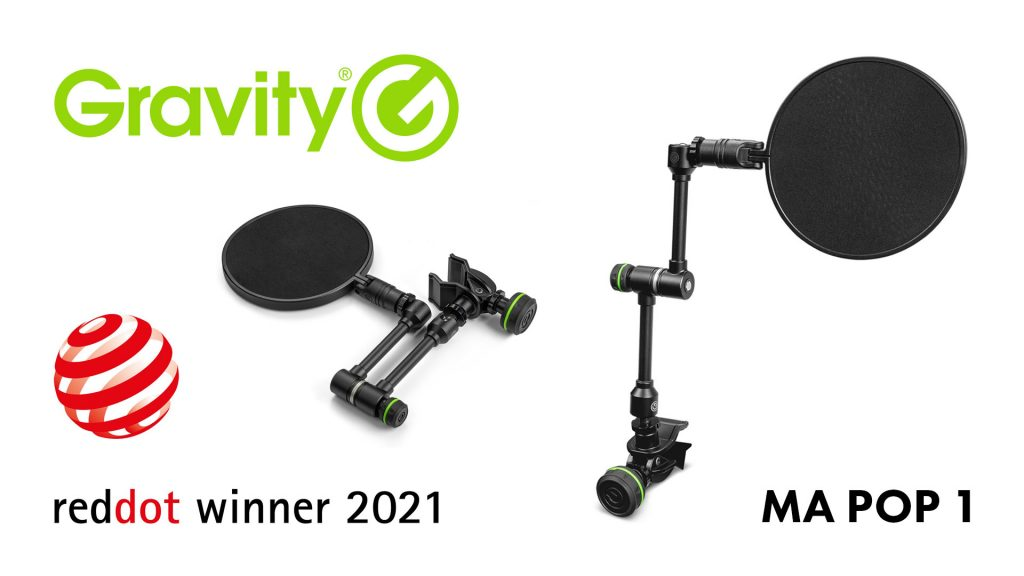 Gravity MA Pop 1 получил награду Red Dot Award за дизайн