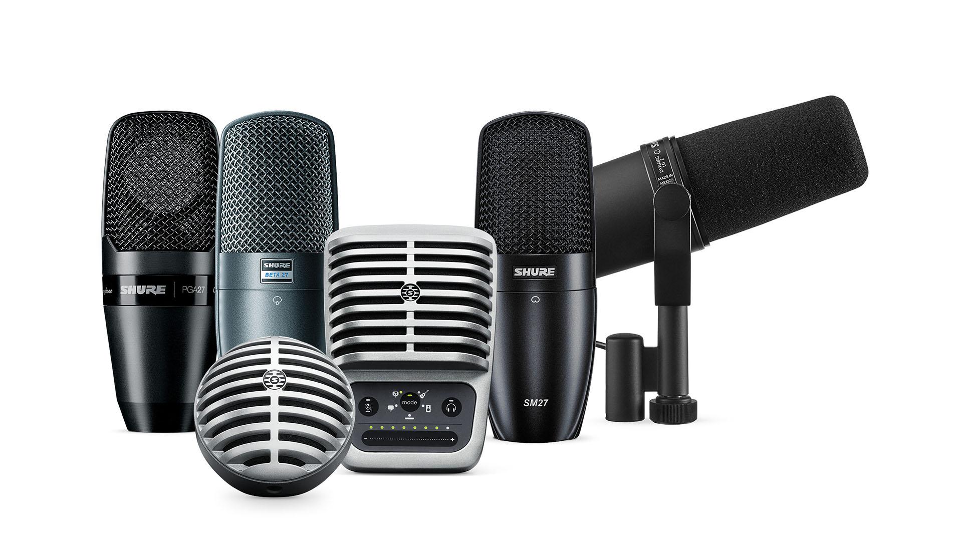 Вещательные микрофоны
