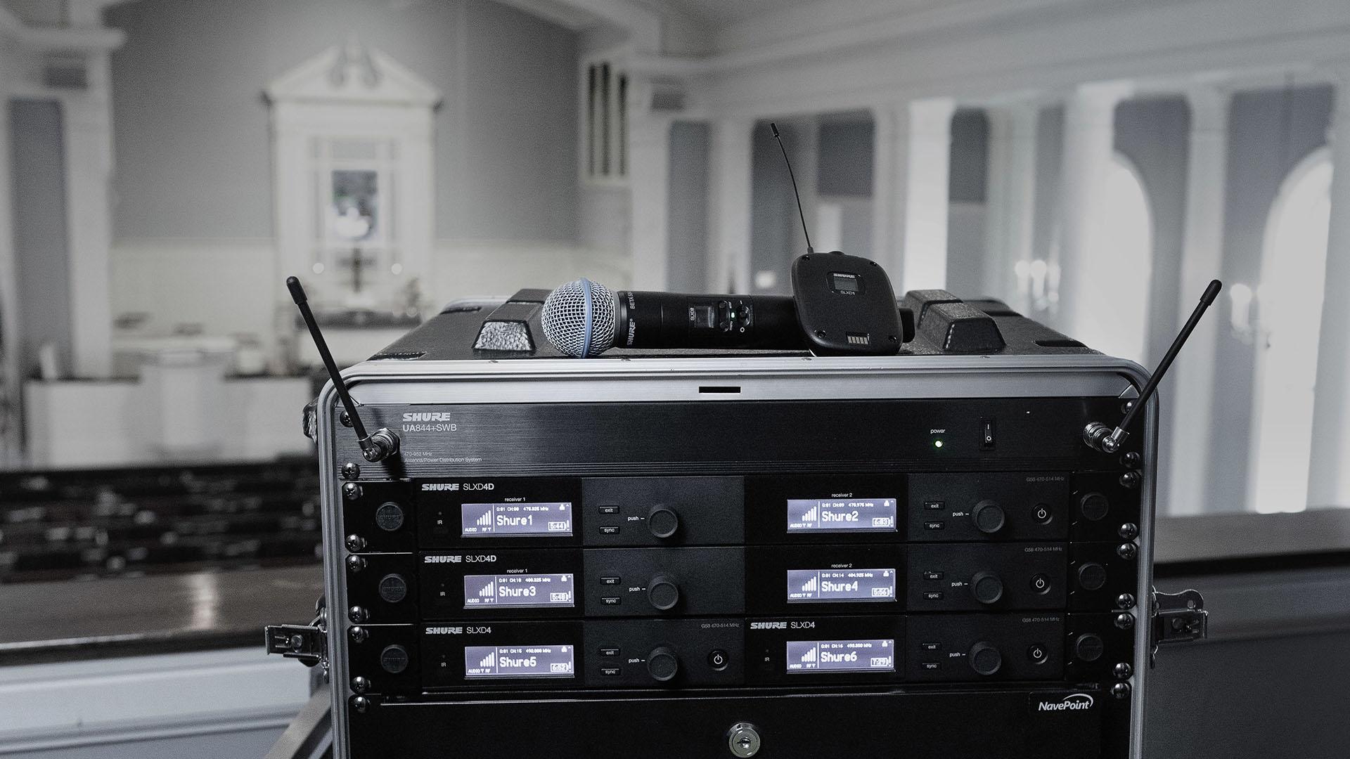 Микрофоны, радиосистемы